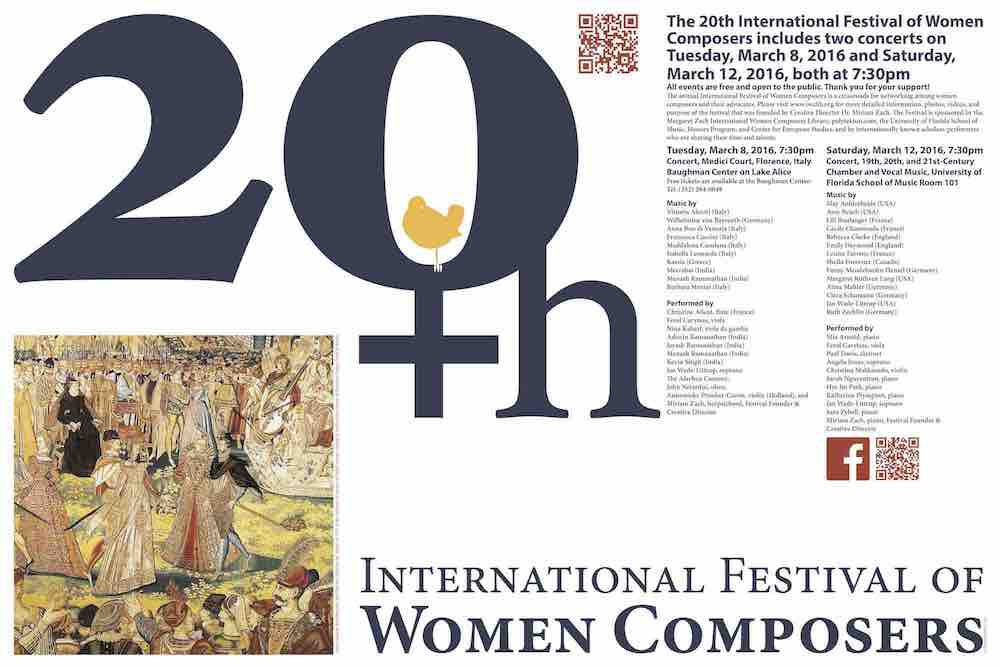 the life and times of music composers francesca caccini and maddalena casulana Times this group first performed at the prestigious  performance entitled music of women composers  hildegard, maddalena casulana, francesca caccini, and amy.
